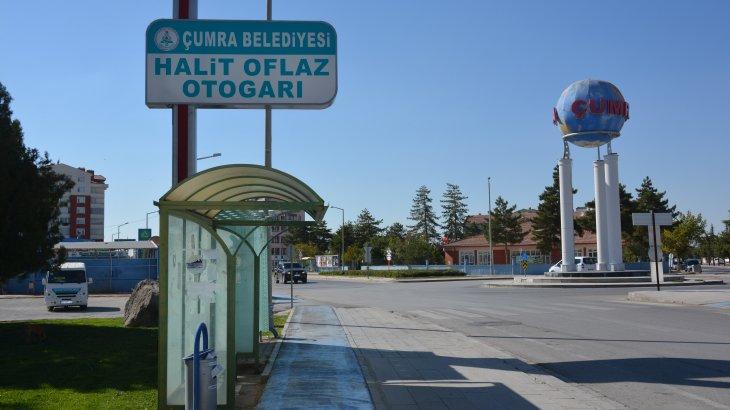 Çumra Otogarın İsmi 'HALİT OFLAZ OTOGARI' Olarak Değiştirildi.