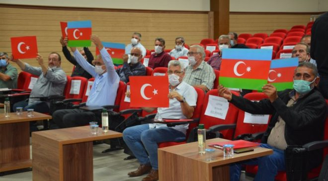 Çumra Belediyesinden Azerbaycan'a Tam Destek