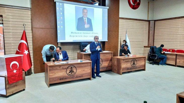 Çumra'nın yeni başkanı Recep Candan oldu