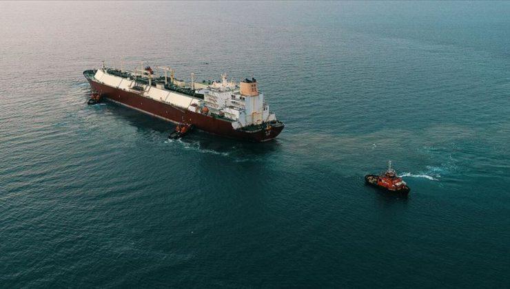 Nijerya'dan yola çıkan LNG gemisi 20 Ocak'ta Türkiye'ye ulaşacak