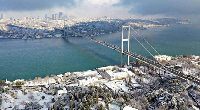 Son dakika! Kar yağışı İstanbul'a 10 günlük su kazandırdı