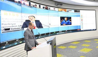Türkiye'den ilk defa doğrudan Uluslararası Uzay İstasyonu astronotları ile telsiz görüşmesi gerçekleştirildi
