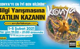 """BÜYÜKŞEHİR'DEN """"SORULARLA KONYA"""" BİLGİ YARIŞMASI"""