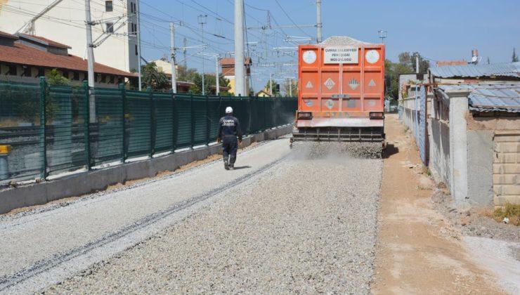 Cahit Aküzüm Caddesinde Yol Çalışmaları Tamamlandı
