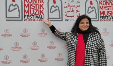 Lübnanlı Ses ve Sinema Sanatçısı Jahida Wehbe Konser İçin Konya'ya Geldi