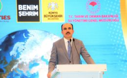 """Konya Büyükşehir Belediye Başkanı Uğur İbrahim Altay: """"TARIMI SÜREKLİ KILMANIN TEK YOLU SUYUN KONTROLLÜ KULLANILMASIDIR"""""""