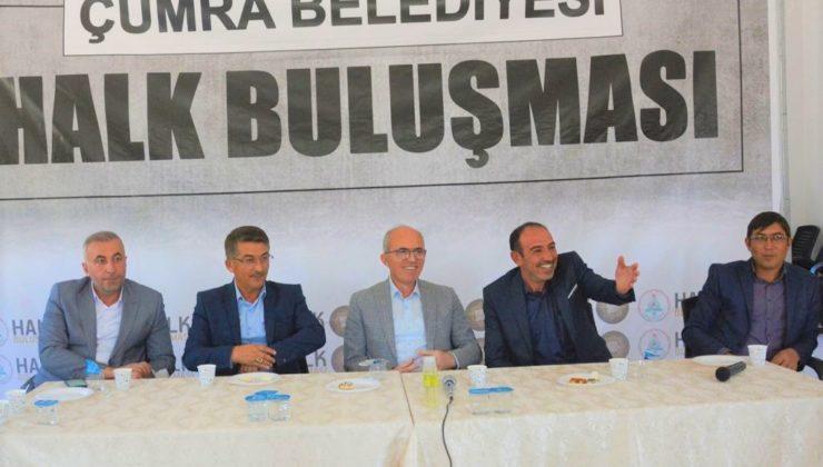 """Çumra Belediye Başkanı Recep Candan; """"GAYRETİMİZ HEMŞEHRİLERİMİZİ MUTLU ETMEK İÇİN"""""""